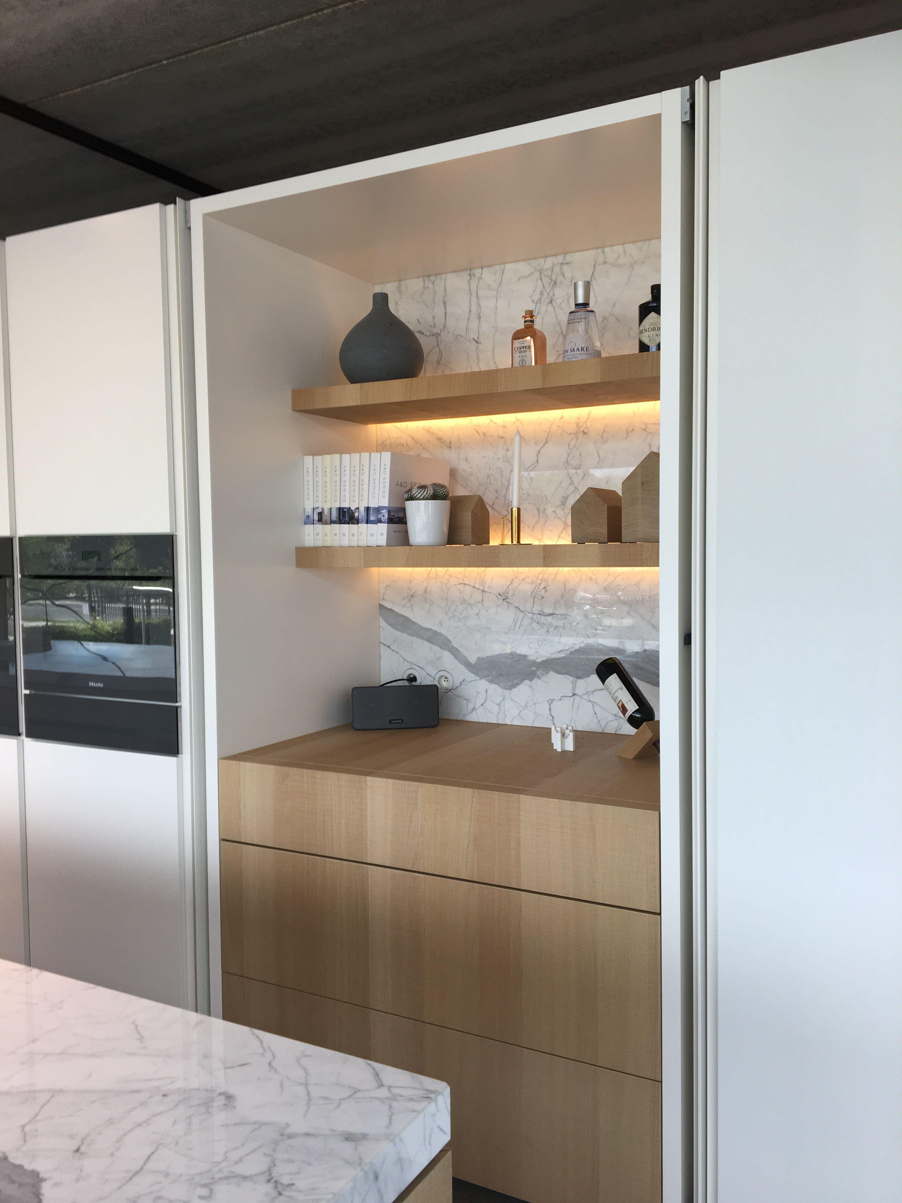 mooie nis woonkamer planken mooie keukens keuken interieur toonzaal thuis keukens