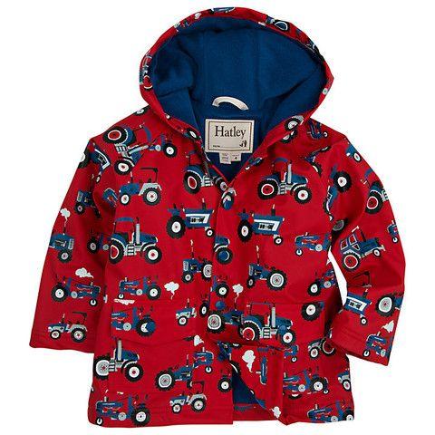 Hatley Baby Boys Classic Printed Raincoat