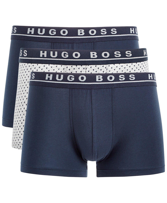 79fd0cff87 BOSS Men's 3-Pk. Stretch Trunks in 2019   Apparel   Hugo boss, Hugo ...
