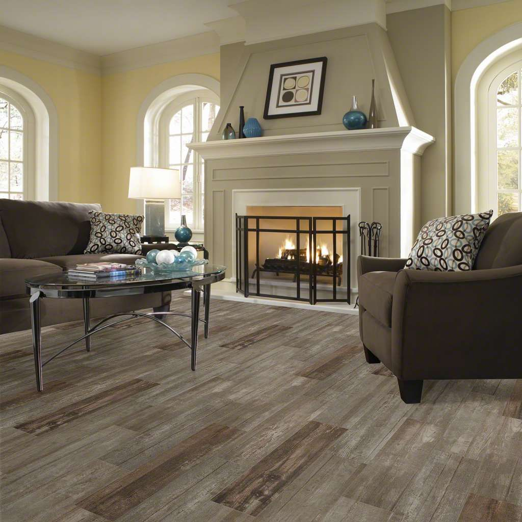 Shaw Glee 8 5 X40 Porcelain Floor Tile Room Scene Noce