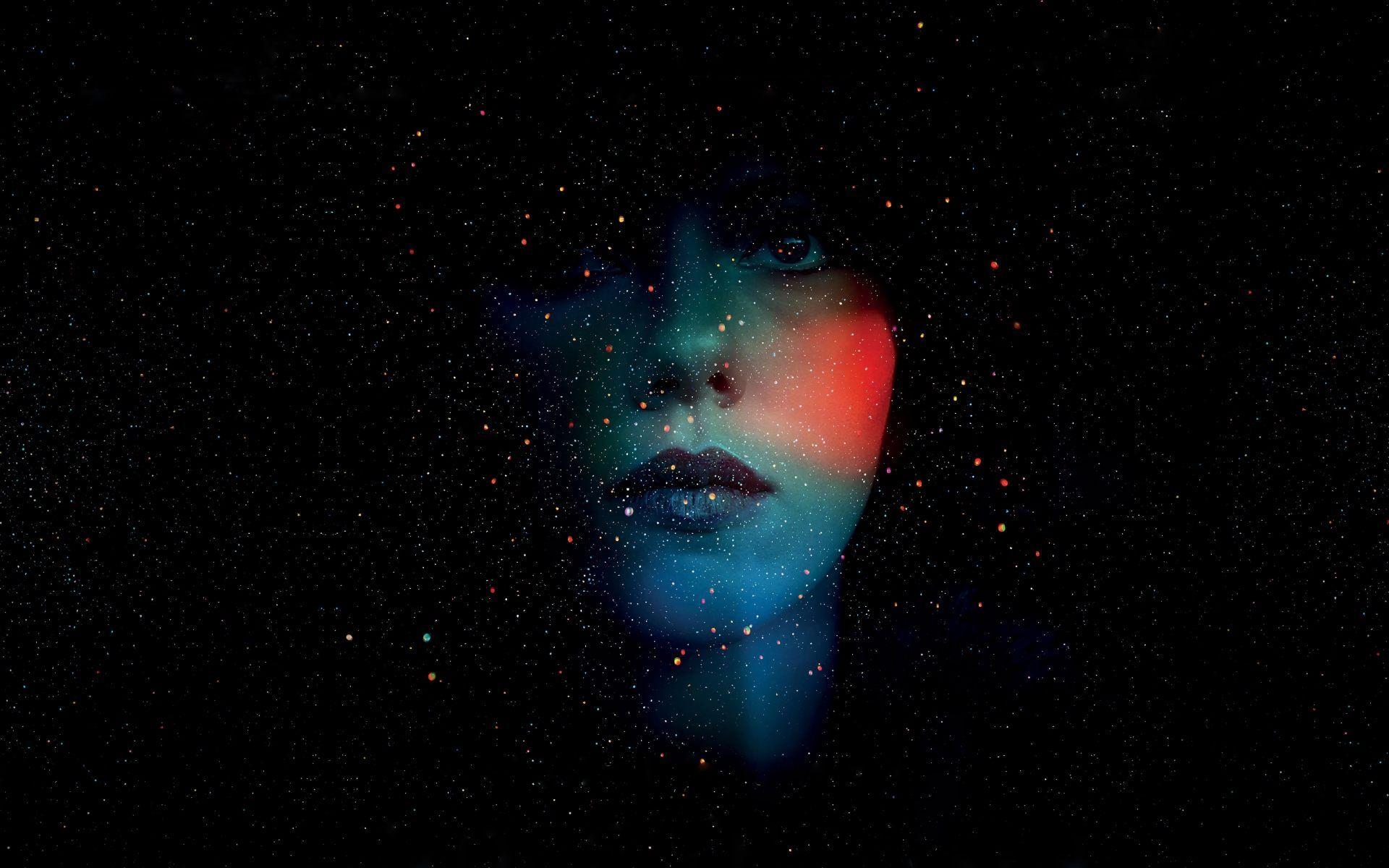 Dark Girl Face Black Wallpaper Gfxhive Abstract Wallpaper Hd Abstract Wallpapers 4k Background