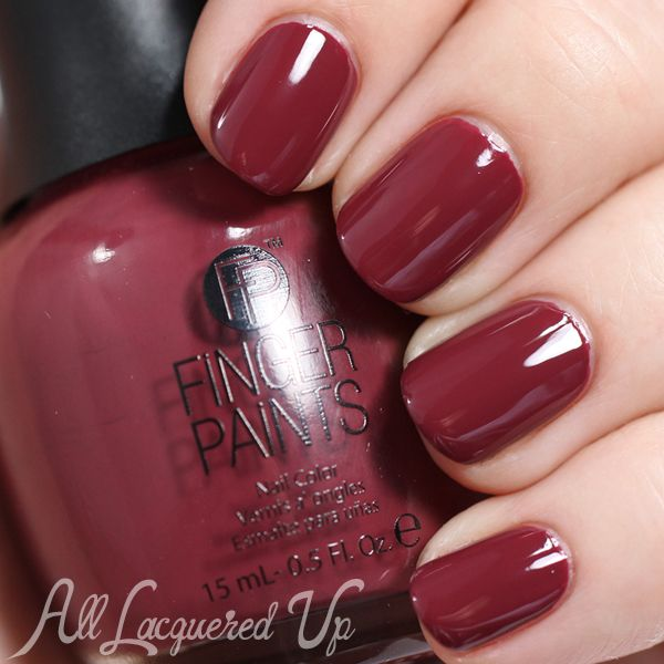 7 Marsala Nail Polish Colors You Can Get Right Now! | Red nail ...