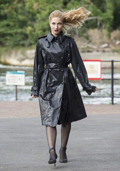 Best 25 Rubber Raincoats Ideas On Pinterest Ladies