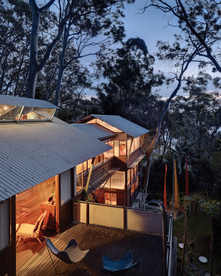 Architect Designed House For Sale In Clareville Beach. West Head House By  Peter Stutchbury