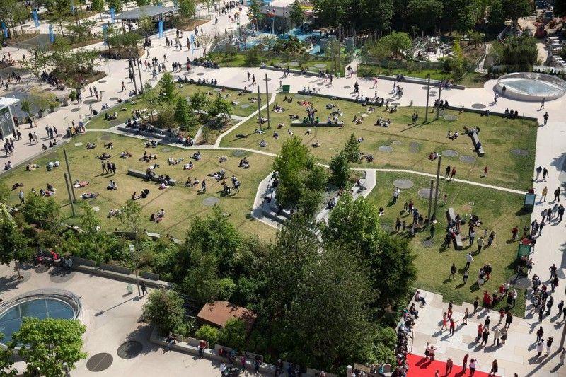 Un Nouveau Jardin Ouvre A Paris Mit Bildern
