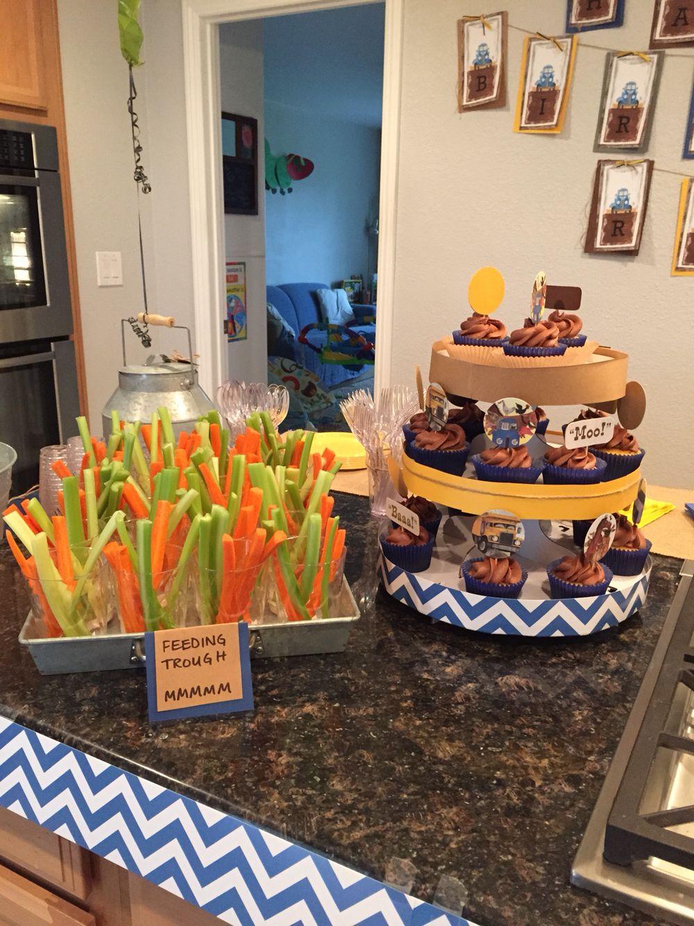 Little blue truck birthday party littlebluetruck