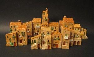 Un tipico paesino di campagna o un tipico paesino con le miniature delle casette Mini terre?  Small houses - rural type
