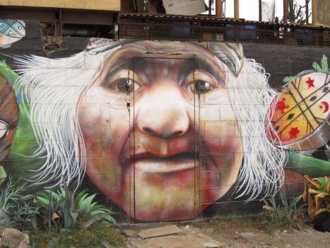 Arte Urbano I - Espiritu Mapuche VI by pilsen85