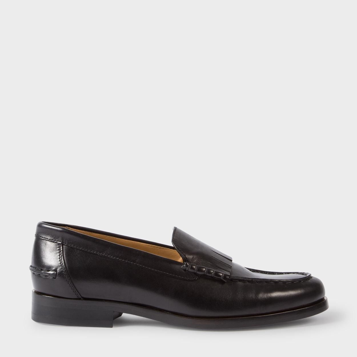 Black lennox fringe loafers buy cheap nicekicks cheap exclusive sale pay with paypal outlet free shipping buy cheap from china U3IaoUA2e