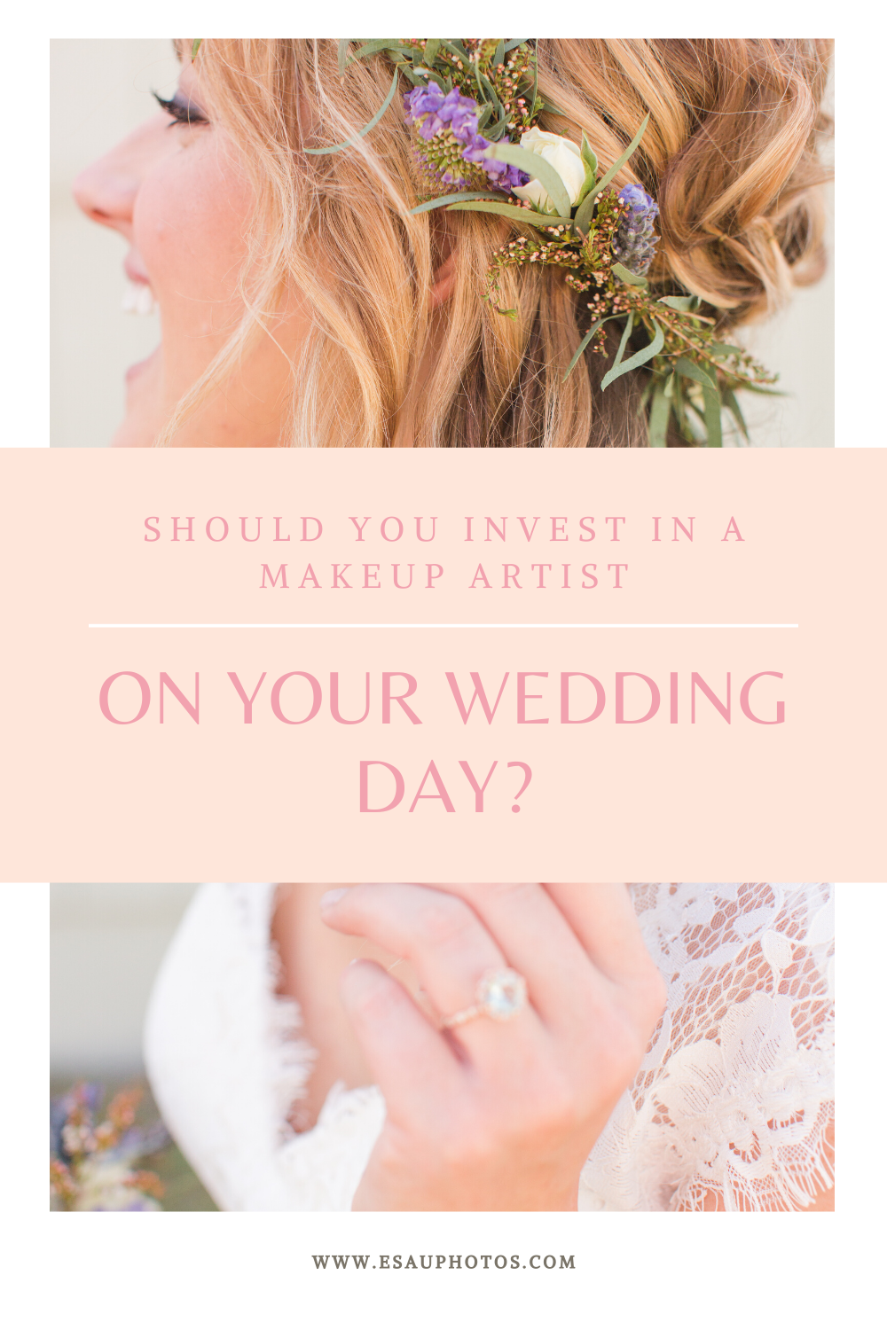 DO YOU NEED A MAKEUP ARTIST ON YOUR WEDING DAY?