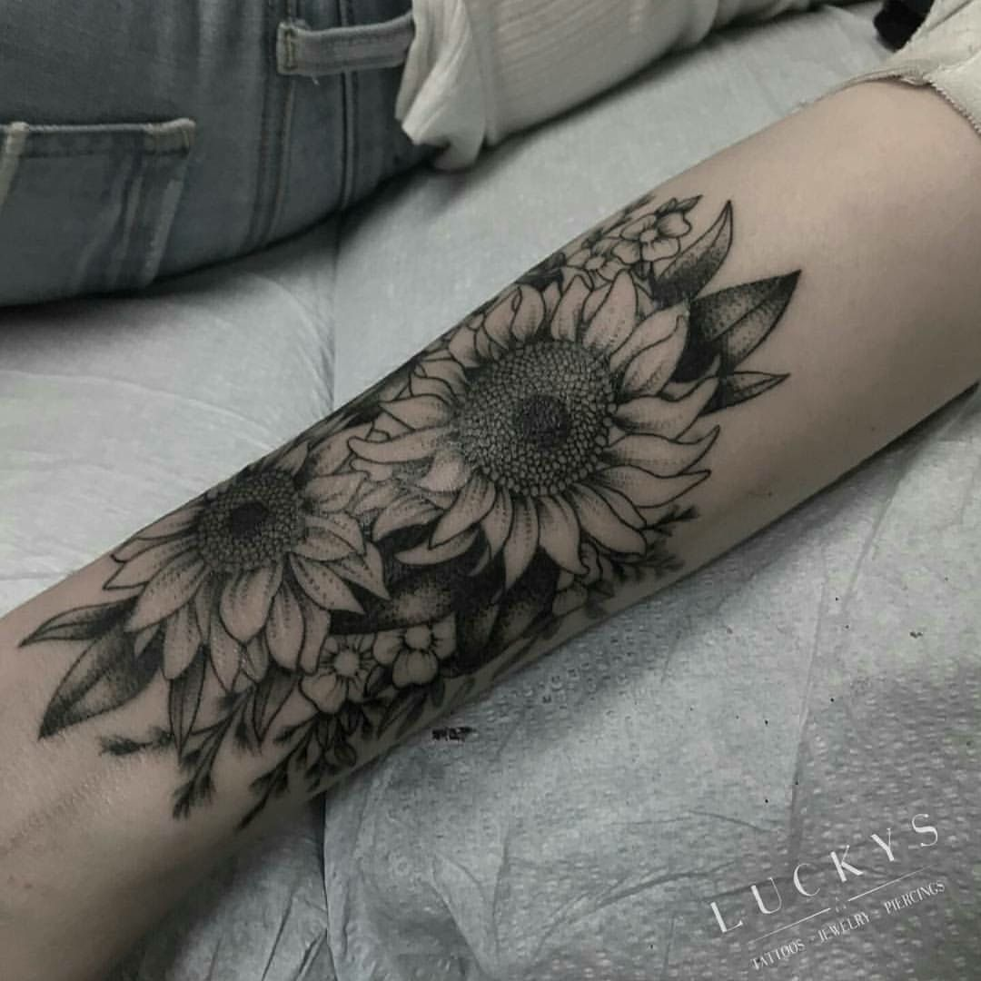 Image by helen mceachern on Tattoos Tattoos, Sunflower