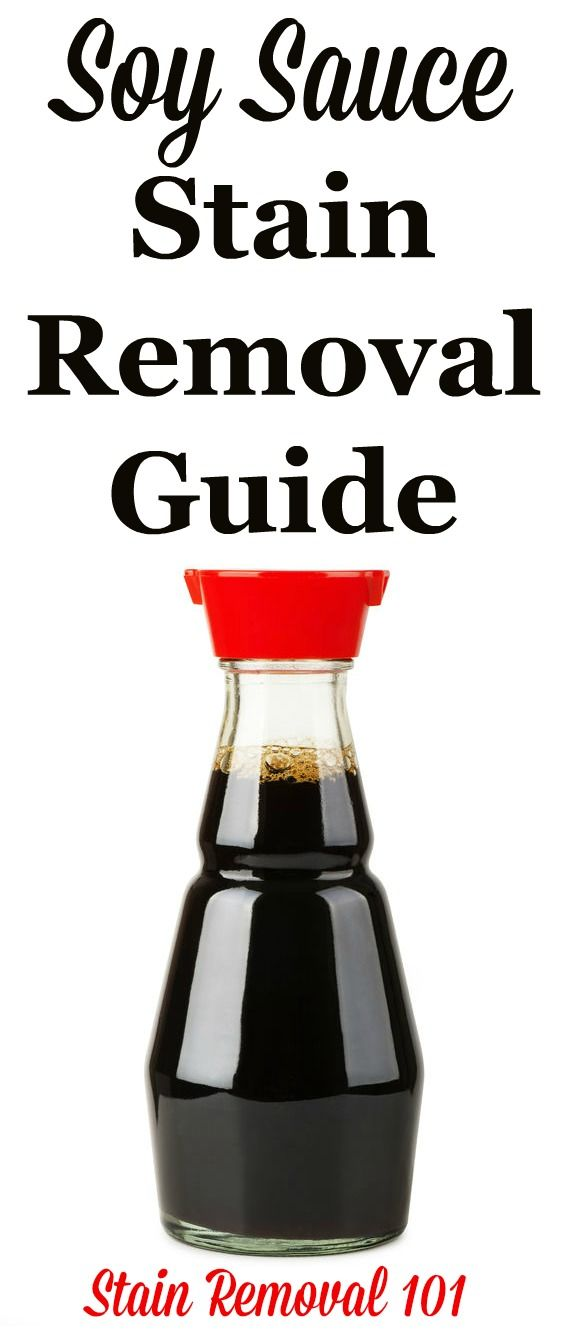 How To Remove Soy Sauce Stains Stain Removal Guide Clean Baking Pans Stain Remover