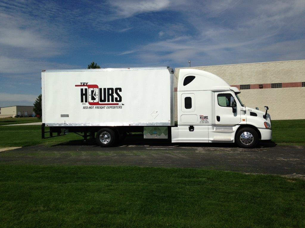 2014 Freightliner Cascadia Straight Truck Tryhours Straighttruck