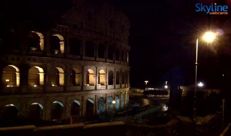Live Cam Colosseum - Rome