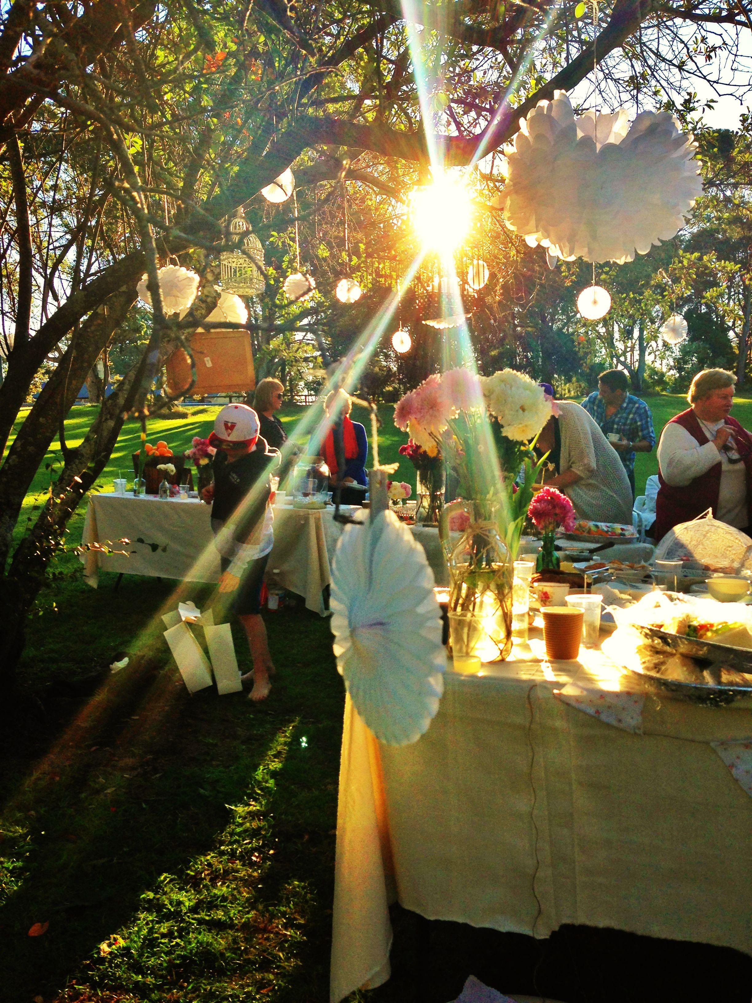 90th vintage picnic party