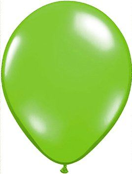 """Custom, Fun & Cool {Small Size 5"""" Inch} 50 Pack of Helium & Air Latex Rubber Balloons w/ Modern Simple Celebration Party Dart Board Game Design [In Bright Bold Lime Green]"""