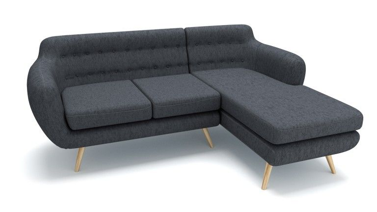 Canape angle droit meridienne gris95 ondigy mobiliermoss