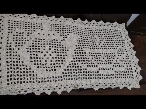 Tapete De Croche Simples Floral Jny Croche Youtube Tapete