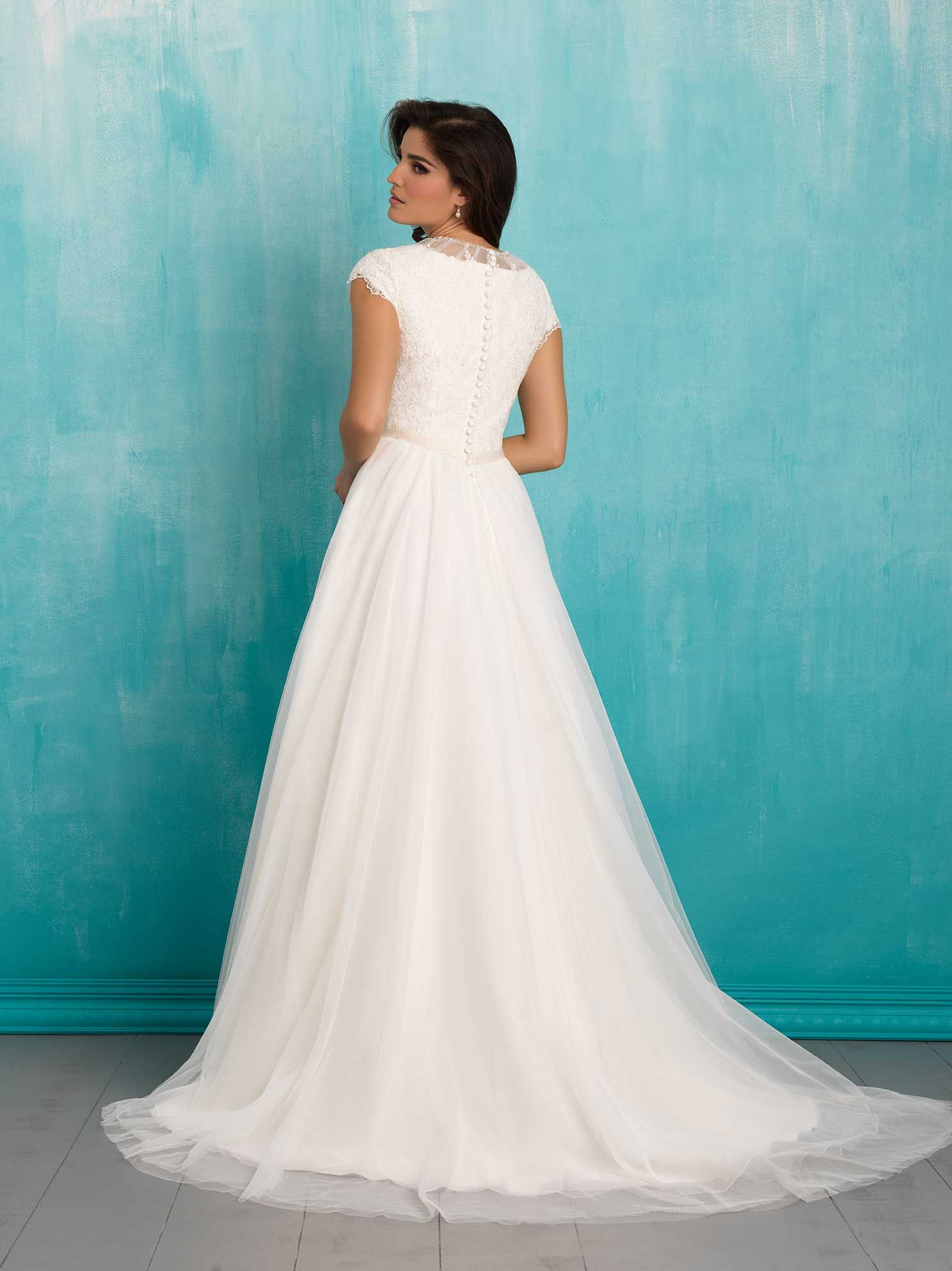 Allure Bridals: Style: M552 | ALLURE M O D E S T | Pinterest ...