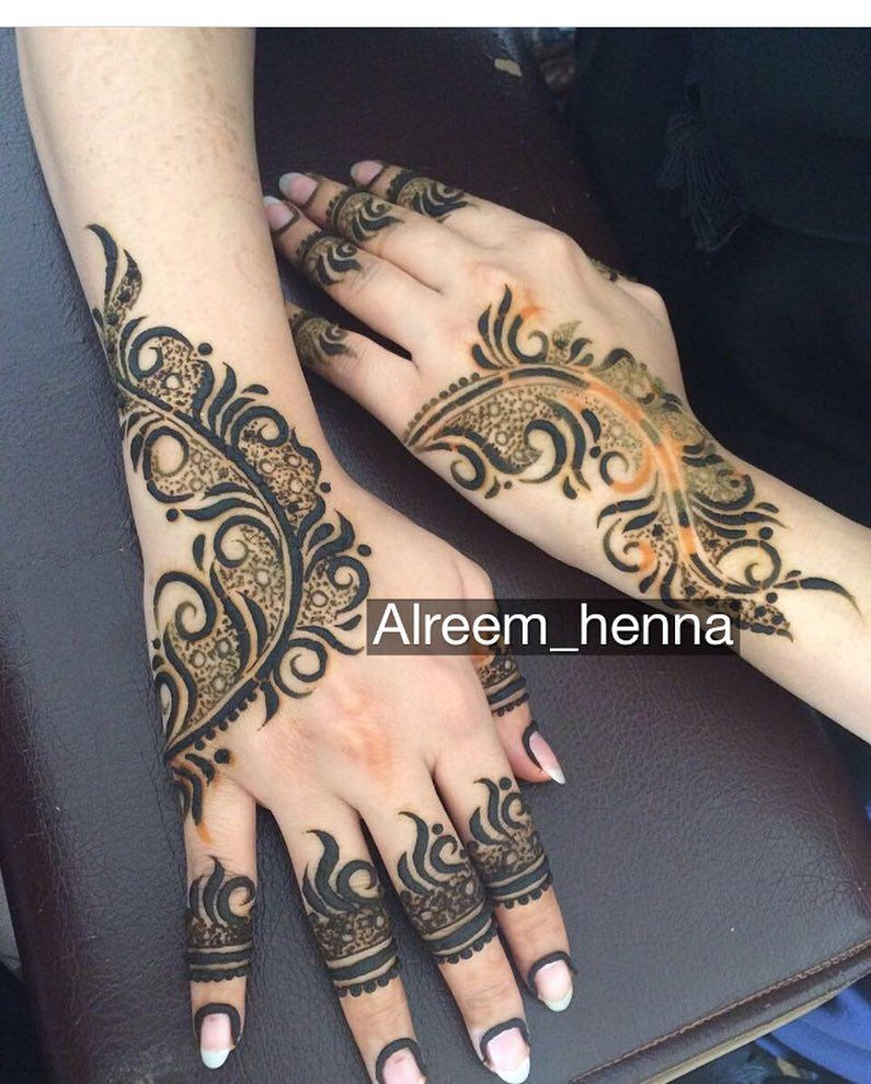 13 Unique Henna Designs Doing The Rounds This Wessing: حساب خاص لعرض صور الحناء (@7ana