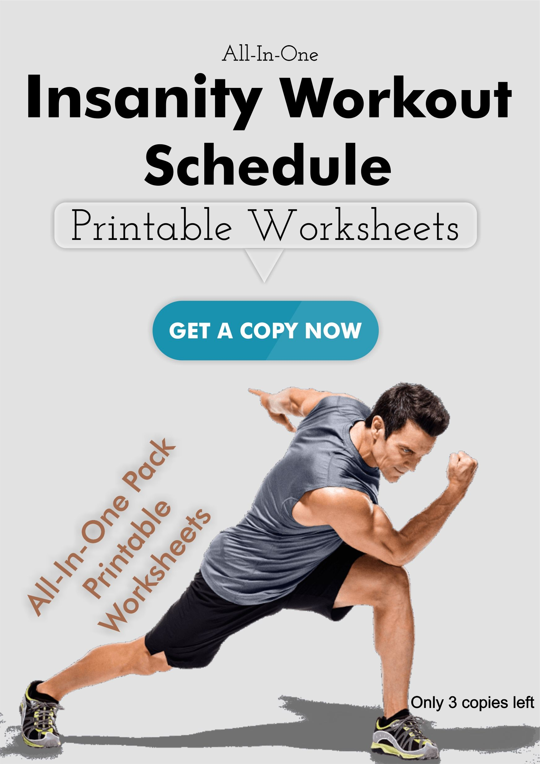 Astounding Insanity Workout Schedule Printable