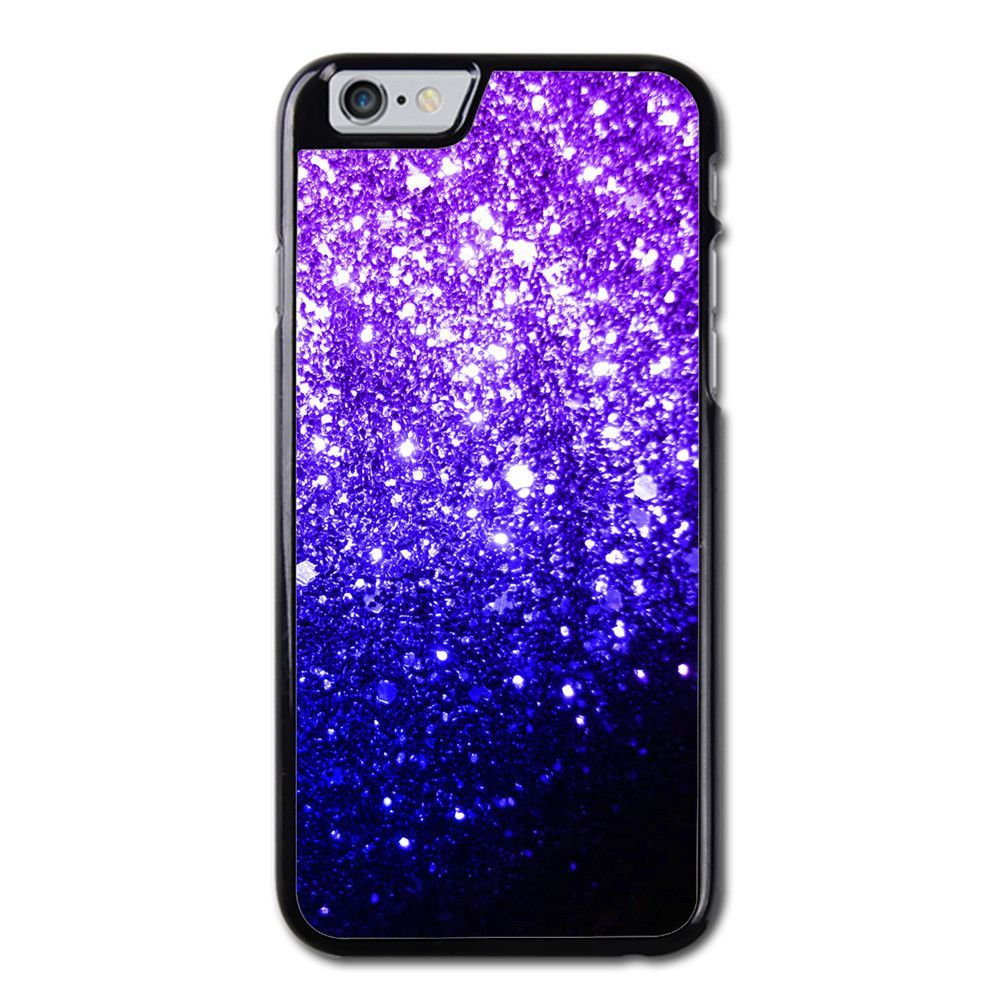 Ombre Fade Glitter Violet Phonecase For iPhone 6/6S Case