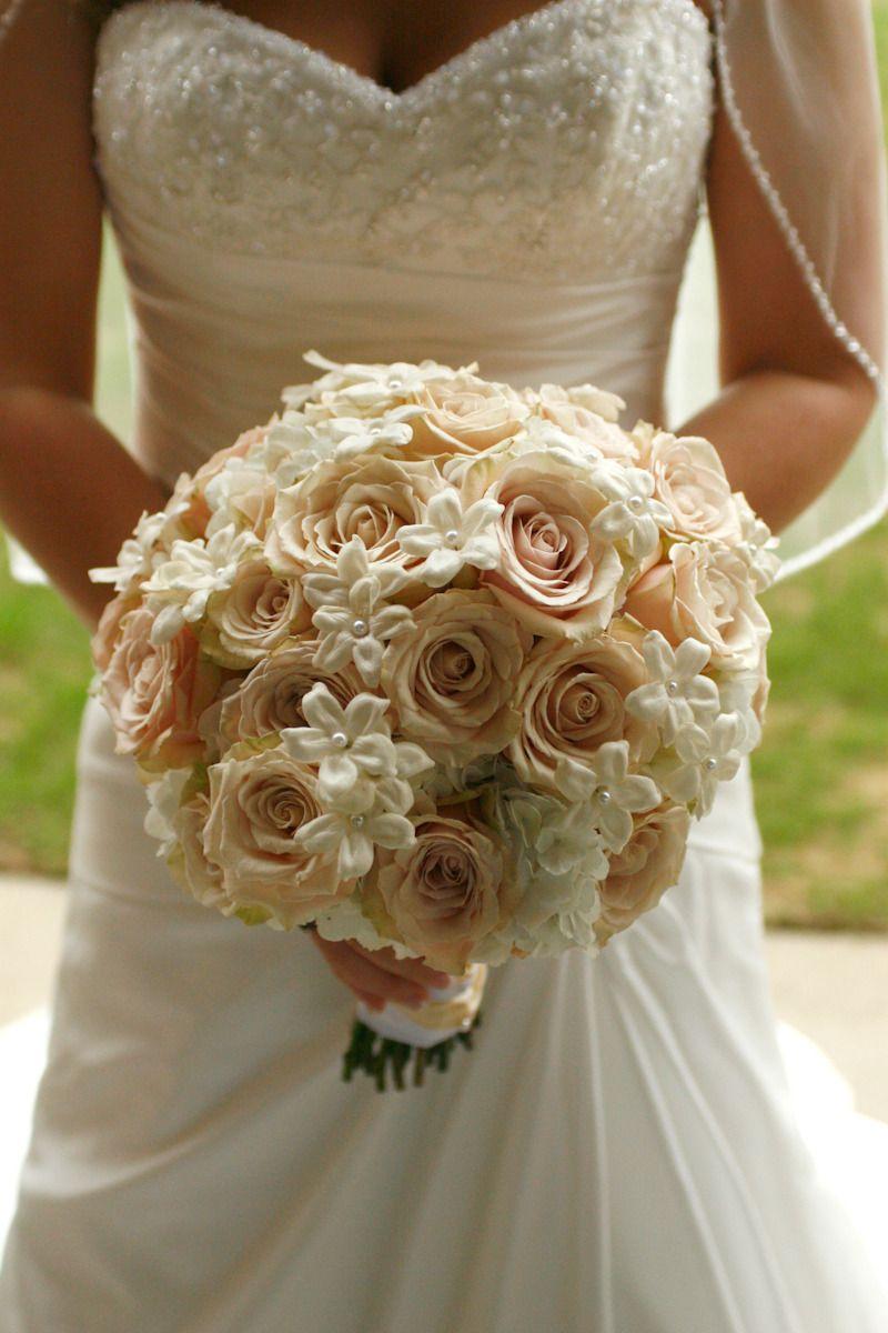 sahara roses and stephanotis - Bouquets - Elliott Events