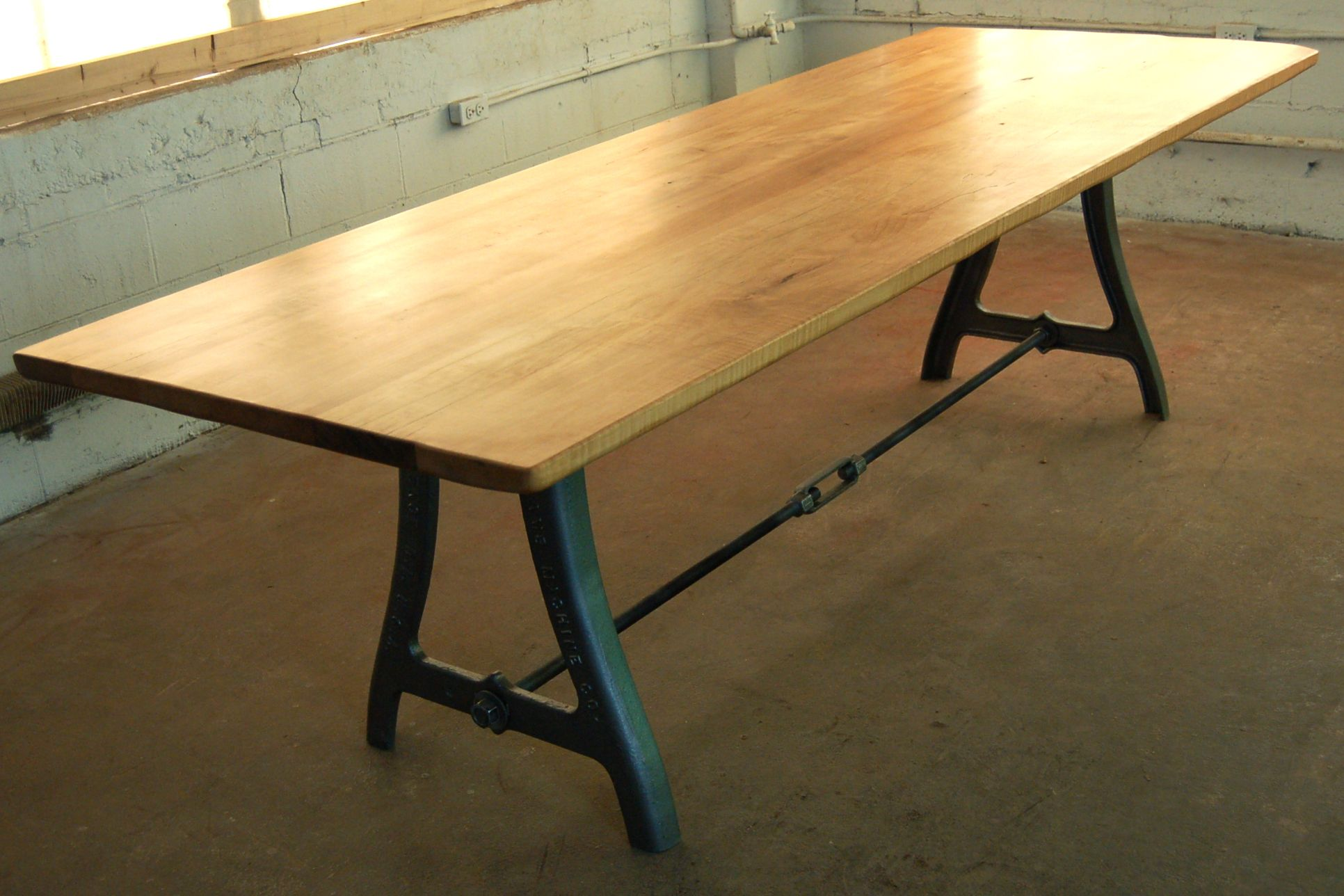 vintage industrial legs with a turnbuckle tables pinterest