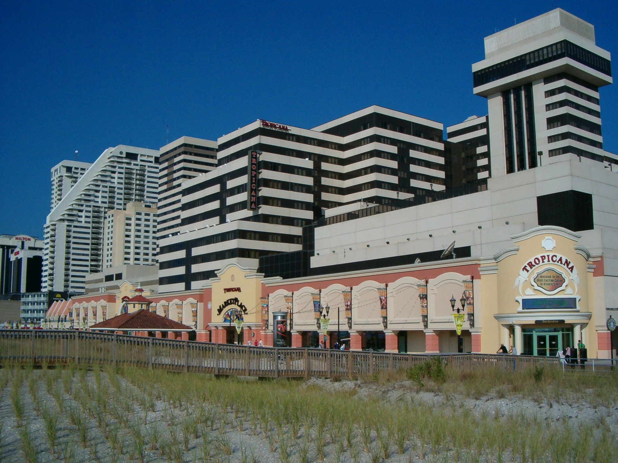 Tropicana Casino On The Boardwalk In Atlantic City Nj We Stayed Here Several Times House Styles Boardwalk Favorite Places
