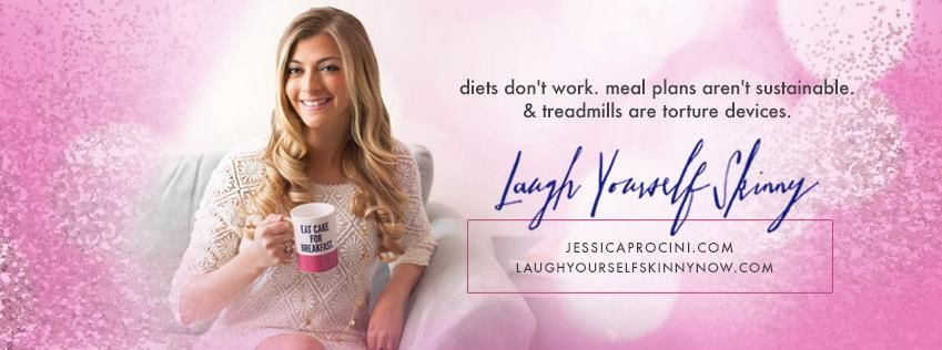 At #LaughYourselfSkinny, I support my clients in never having to deal with the burden of counting calories again. You can have fun losing weight… I promise! www.JessicaProcini.com
