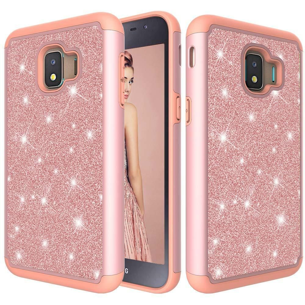 For Samsung Galaxy J2 Core Bling Glitter Armor Hard Phone Casetempered Glass Phone Case Glitter 8 95 End Glitter Phone Cases Phone Cases Hard Phone Cases