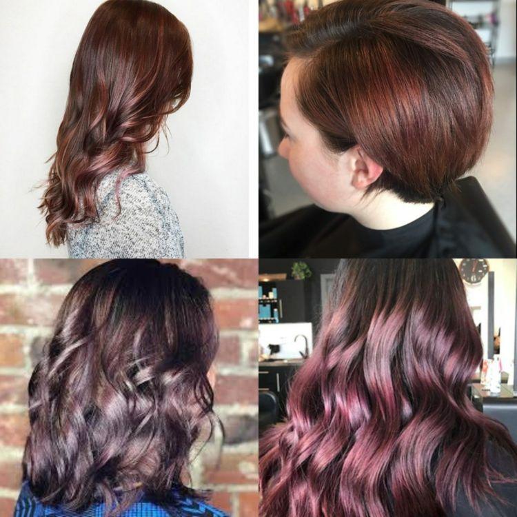 #rosebraun #haarfarbe #rosebrown #haare #selber #färben #