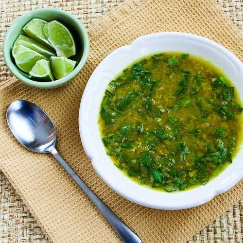 Kalyn's Kitchen®: Indian-Spiced Slow Cooker Red Lentil Soup Recipe with Spinach and Coconut Milk (Vegan, Gluten-Free)