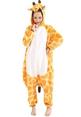Tonwhar Cartoon Animal Onesie for Adults Giraffe Cosplay Costumes Giraffe Costumes are one of the biggest trends for Halloween 2017.  sc 1 st  Pinterest & Tonwhar Cartoon Animal Onesie for Adults Giraffe Cosplay Costumes ...