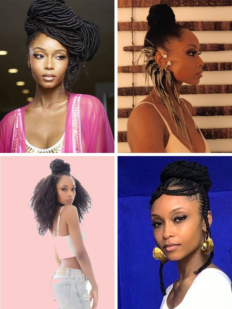 50 Hottest Black Celebrity Hairstyles You Can Copy New Natural Hairstyles Celebrity Hairstyles Hair Styles Natural Hair Styles