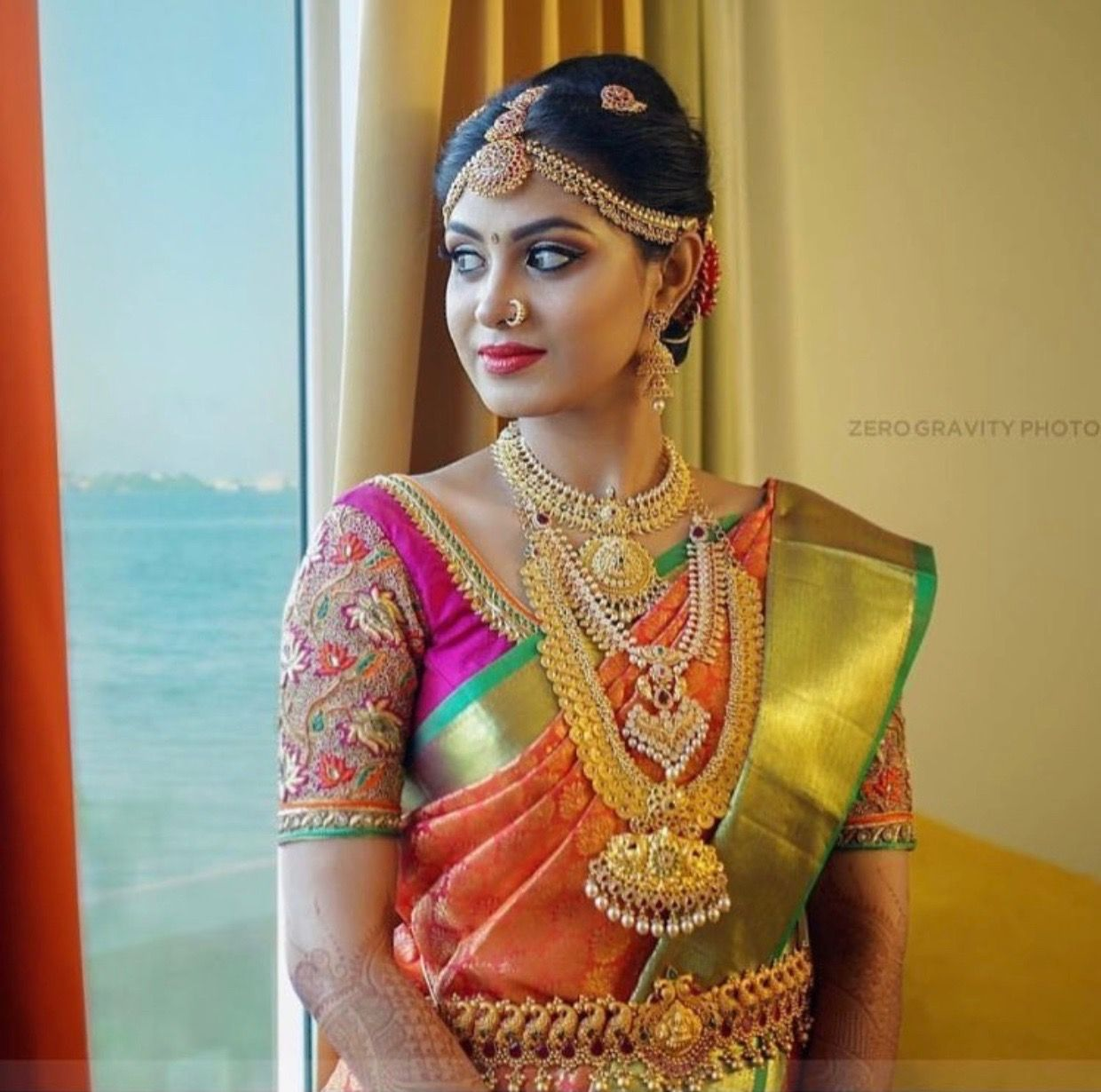 Pin by flying duck on jewellery | Pinterest | Saree, Blouse ...