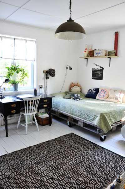 20 camas hechas con paléts de madera Mil Ideas de Decoración