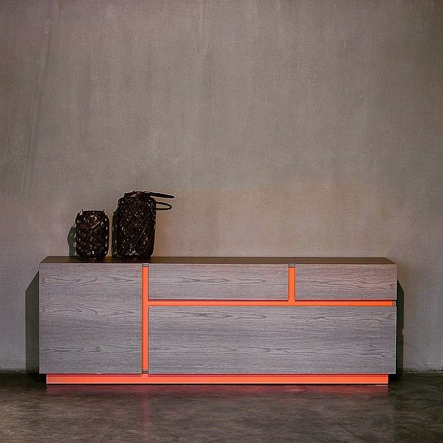 FORM sideboard in oak and lacquered wood with options in dimensions and finishes #thedesigngroup #furniture #madeingreece #customized #sideboard #deco #decoration #interiors #interiordesign #home #collection #showroom #colors #wood #home #shop #kaloterakis #kolonaki #rethymno