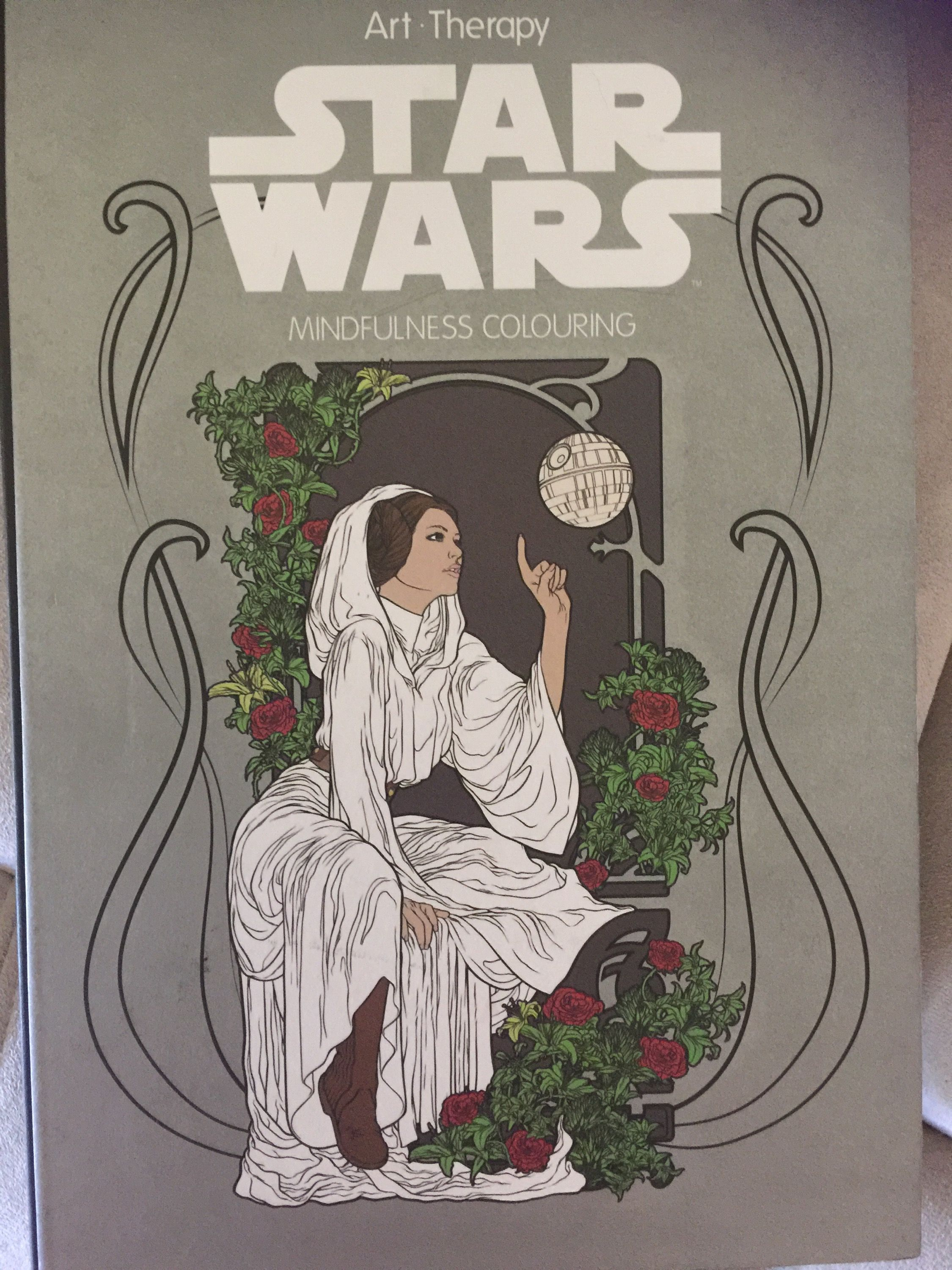 Star Wars Art Therapy Star Wars Coloring Book Coloring Books Star Wars Art