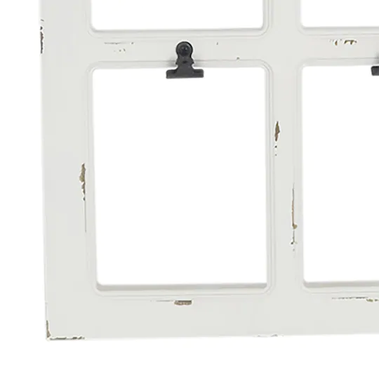 White Window Frame With Clips Collage By Studio Decor Studio Decor White Windows Window Frame