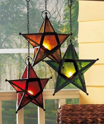Star Candleholders
