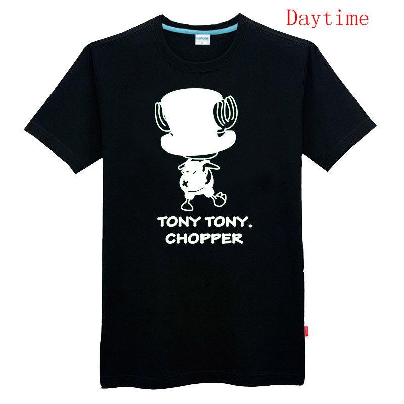 Tony Tony Chopper One Piece T-shirt Luminous T-shirt