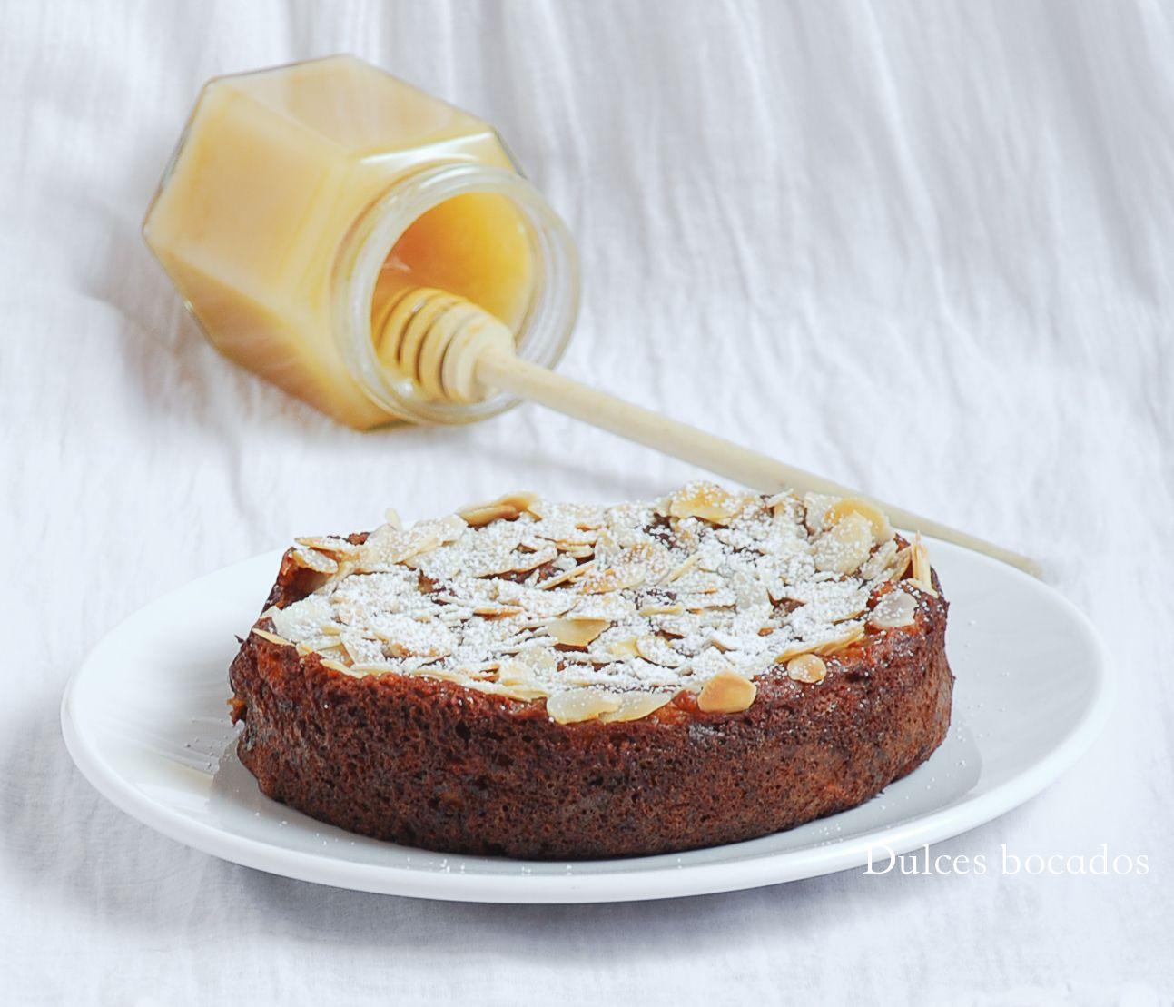 Dulces bocados: Bizcocho de miel y manzana (sin gluten)