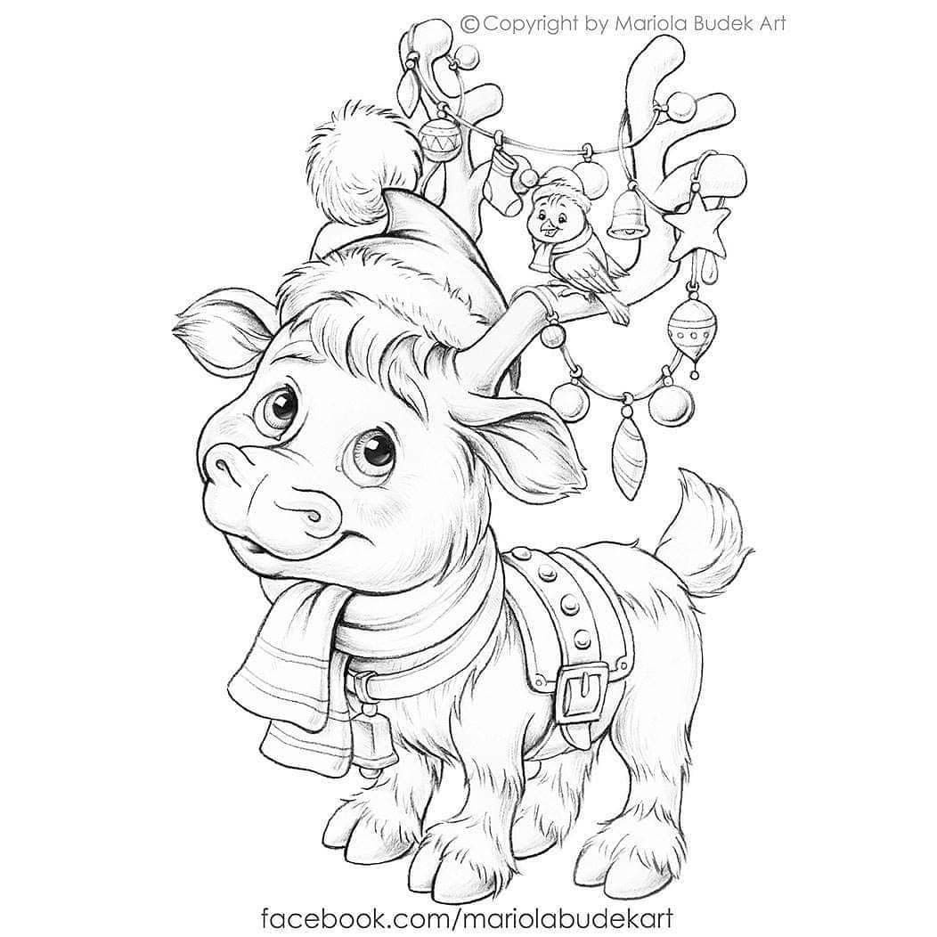 Free Coloring Page Santa Claus Is Coming I Made A Special Surprise For My Coloring Fans Coloring Pages Christmas Coloring Books Cute Coloring Pages