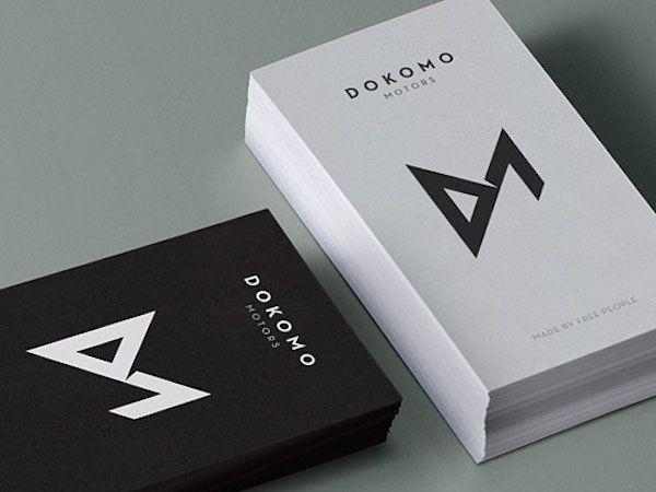 Fresh minimal business card designs marketing make it sell it fresh minimal business card designs reheart Gallery