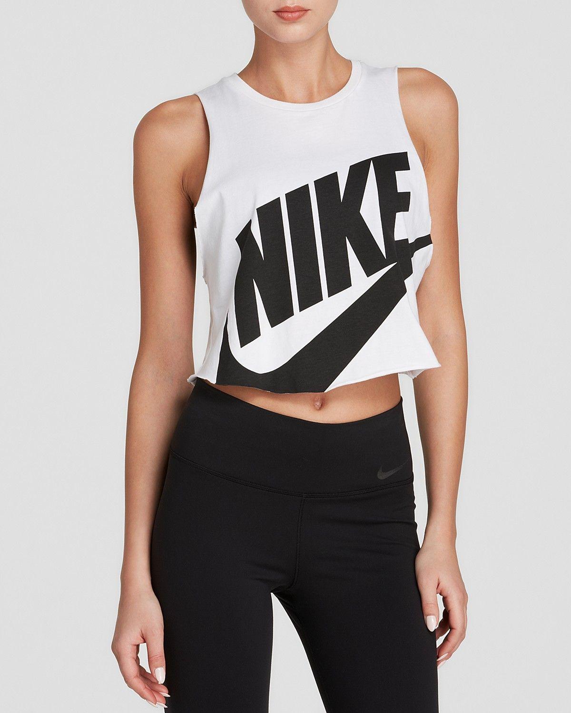 309e5425faa9 Nike Tank - Swoosh Crop