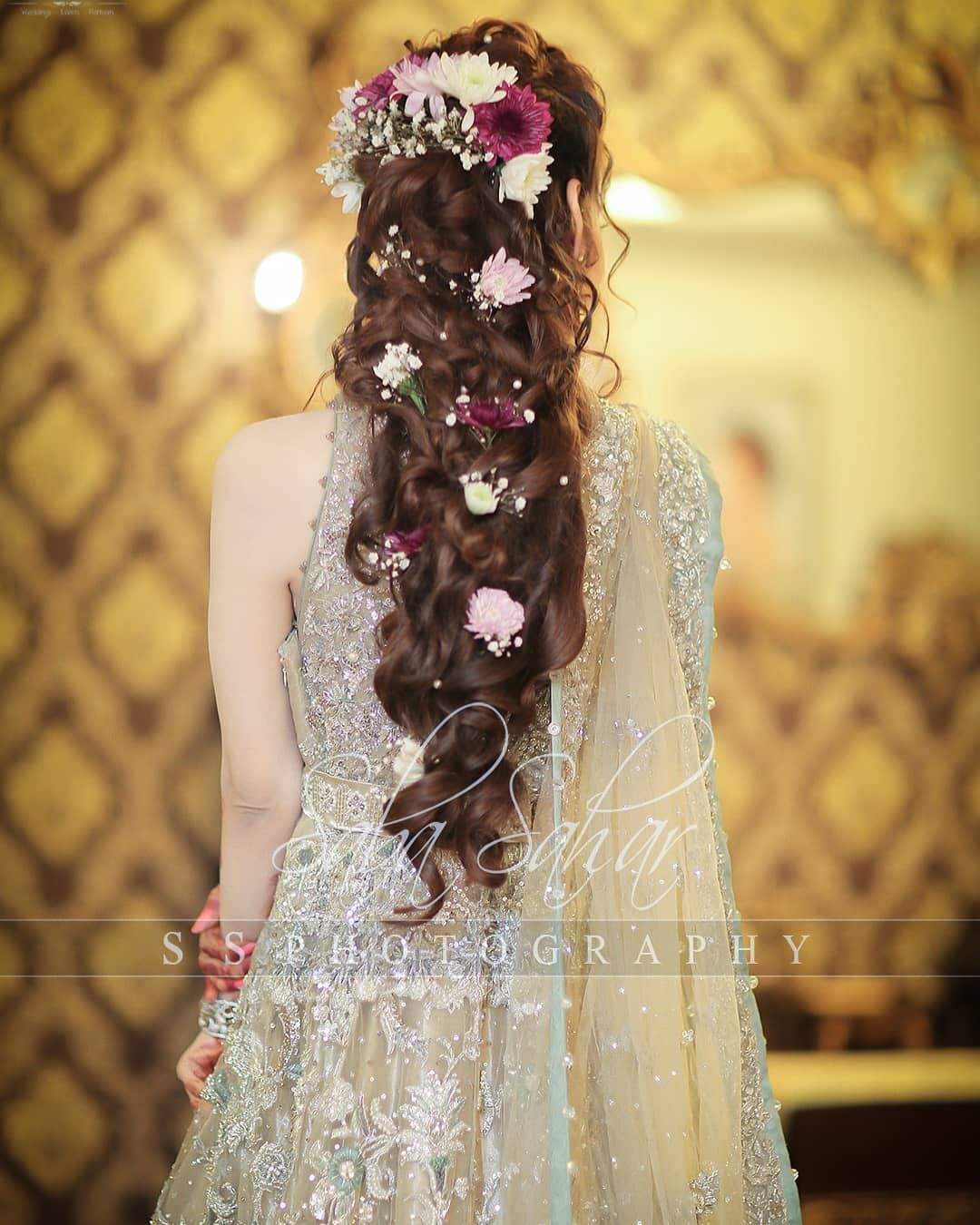 Hairstyles Pakistani Waleema: Actress Saniya Shamshad Walima Clicks