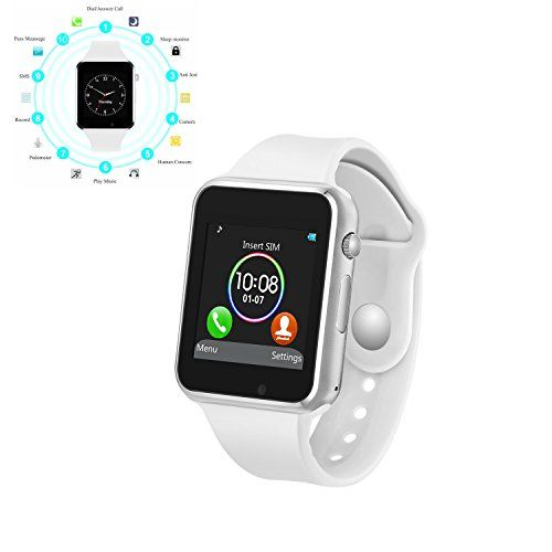 Smart Watch Mobile Phone Camera, Touch Screen Smart Watch