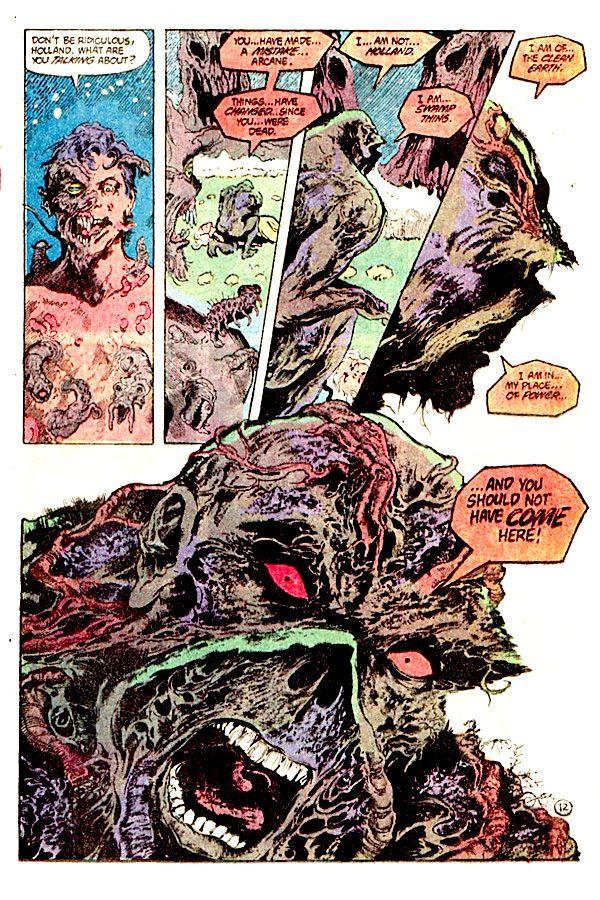 Swamp Thing by Stephen Bissette & John Totleben | Comic ...