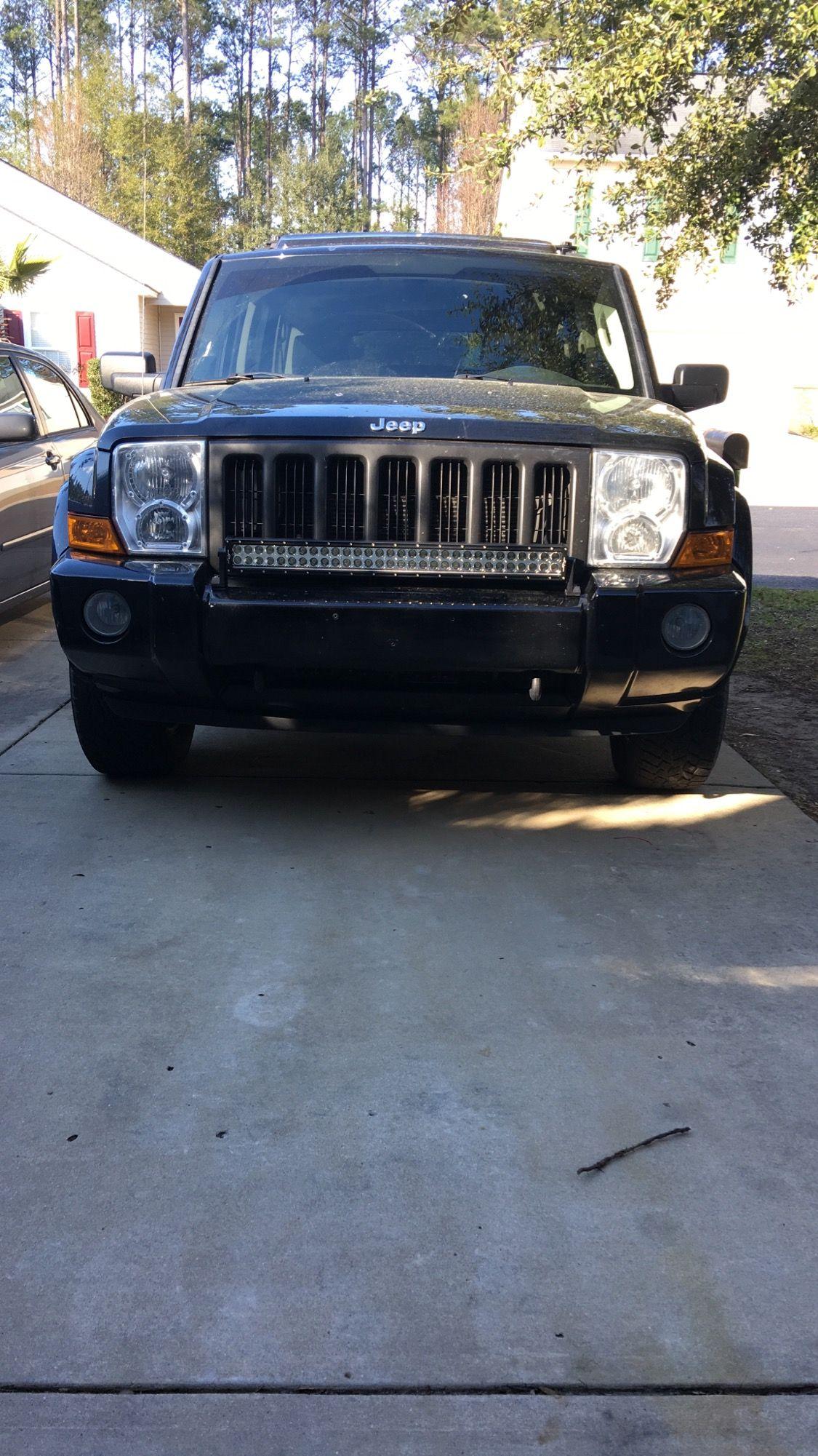Light bar on my xk jeep jeeplife wrangler jeeps cherokee jeep commander light bar aloadofball Images